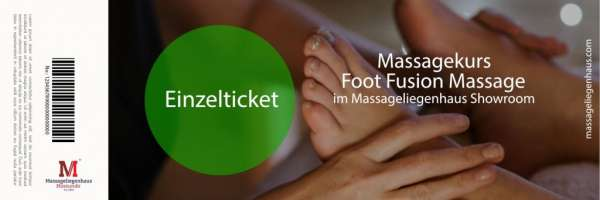Massagekurs Foot Fusion Massage | 2x 4 Stunden