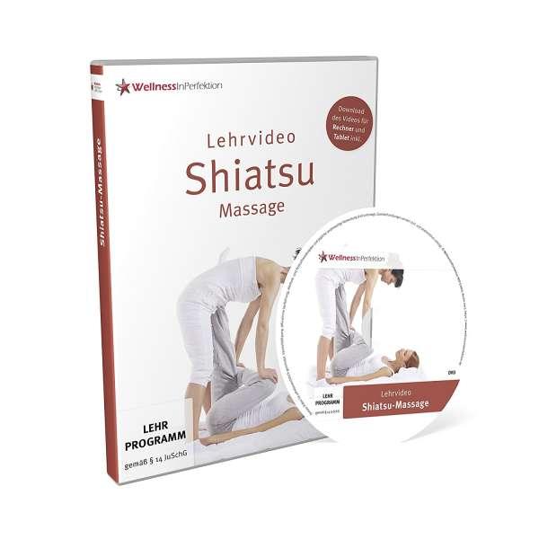DVD Shiatsu-Massage (Lehrvideo) | Für Anfänger und Profis