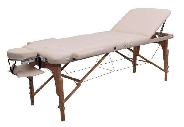 Massageliege-Zen.-Physiotop-anstellbare-Liegefläche-3teilig-farbe-crme