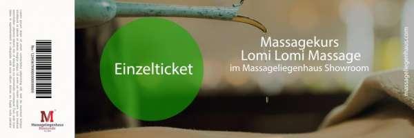 Massagekurs Lomi Lomi Massage | 2x 4 Stunden