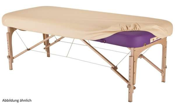 Oil-resistant PU-cover for massage tables
