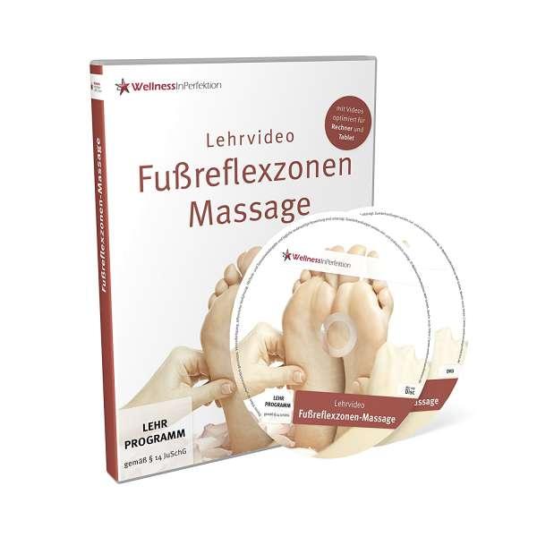 DVD/Bluray Fußreflexzonen-Massage (Lehrvideo) | Für Anfänger und Profis