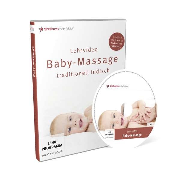 DVD Baby-Massage (Lehrvideo) | Für Anfänger und Profis