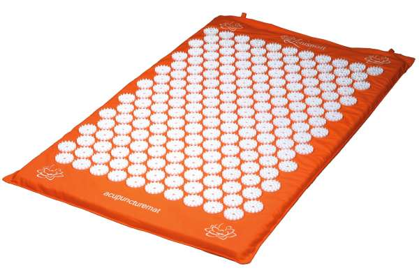 Acupressure mat orange